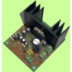E-14 Amplificador 20w 2 vias mono