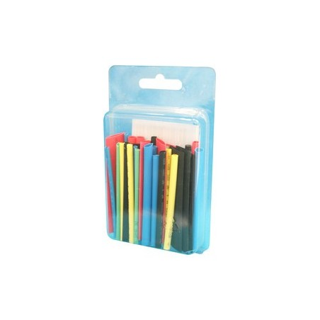 Selección de 44 tubos termo-retráctiles, de 60 mm.
