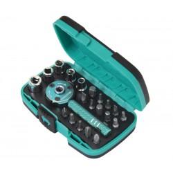 HRV6644 Mini carraca con 20 puntas