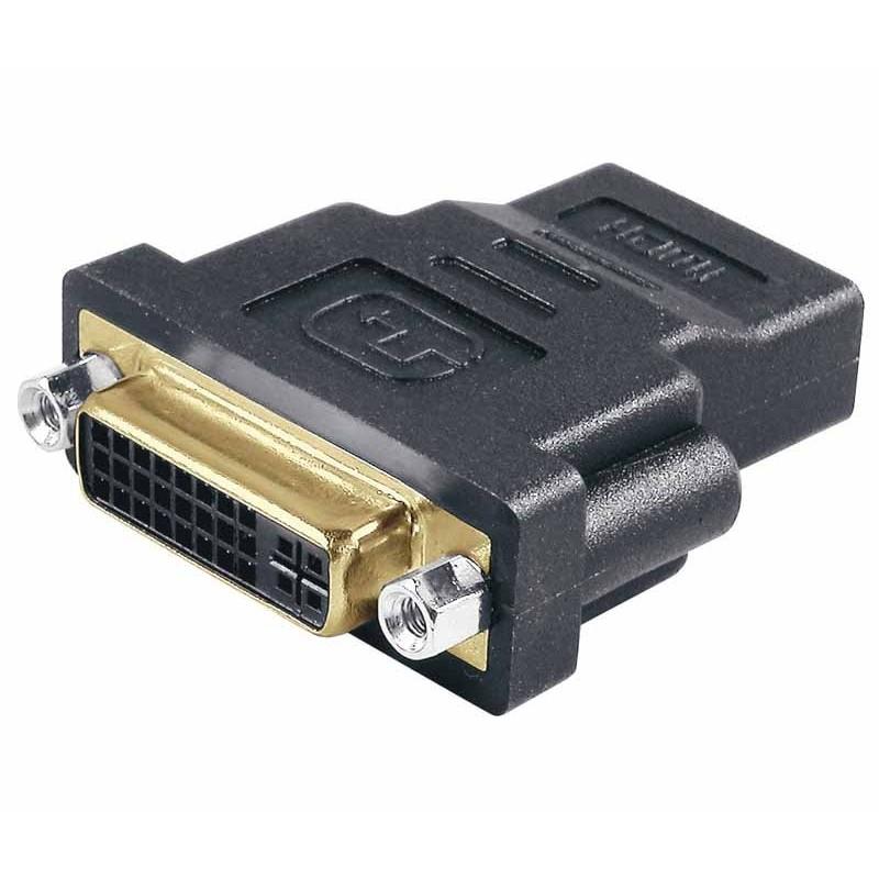 CON154 Adaptador DVI hembra a HDMI hembra