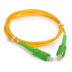 Conexion fibra óptica SCAPC/SCAPC 3mts