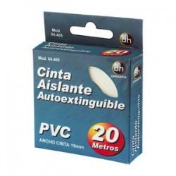 CINTA  AISLANTE   DE PVC 20MTS BLANCA