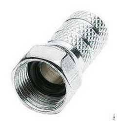 CONECTOR F MACHO TORSION 7mm