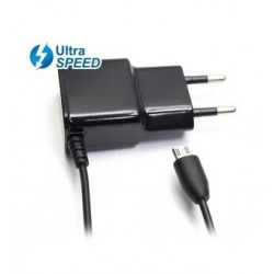 CARGADOR MICRO USB ULTRA SPEED 5V 2,1A