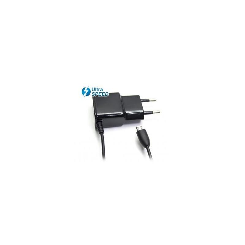CARGADOR MICRO USB ULTRA SPEED 5V 2,1A
