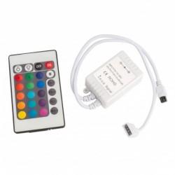 Controlador y Mando a Distancia RGB  IP25