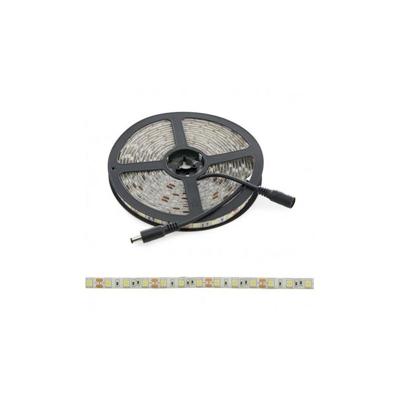 Tira 300 LEDs SMD5050 12VDC IP65 BLANCO CALIDO