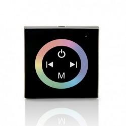 Controlador Empotrable Táctil con Mando Tiras RGB