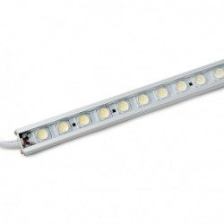 Tira LEDs Rígida con  72 LEDs 60cm Blanco Frio