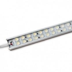 Tira LEDs Doble Rígida  72 LEDs 60cm Banco Frio