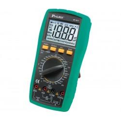 MUL5211 Multímetro digital 3 1/2 digitos, Cat IV 6