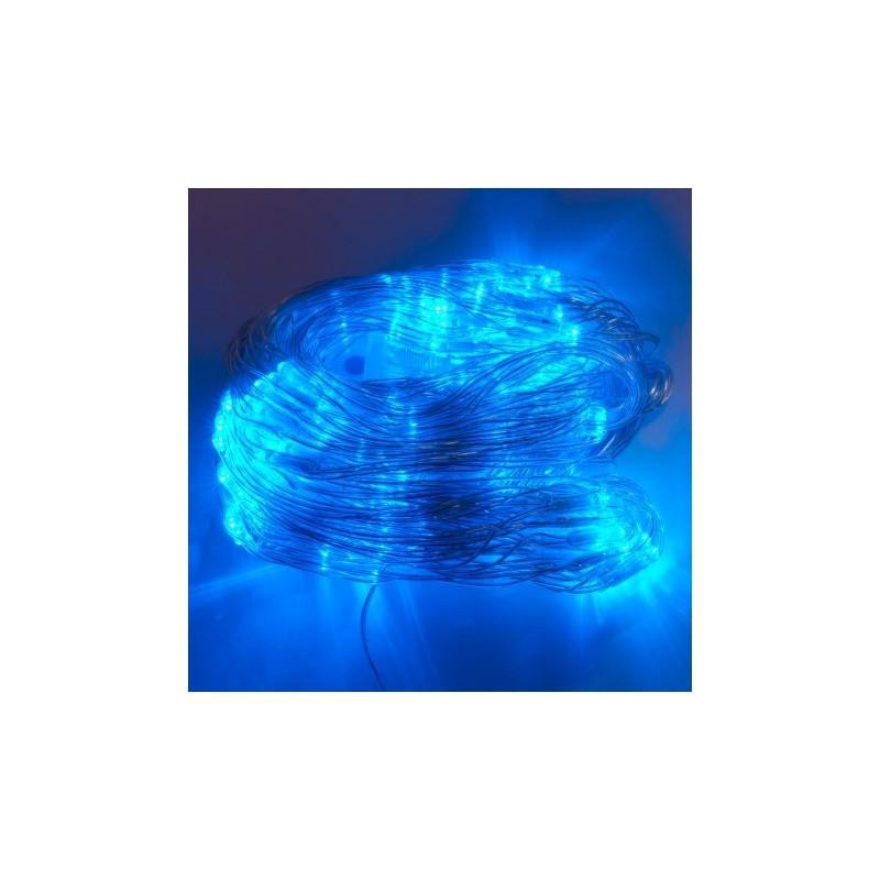 Malla 192 LEDs 2x3 Metros IP67 220V 8 Fun. Azul