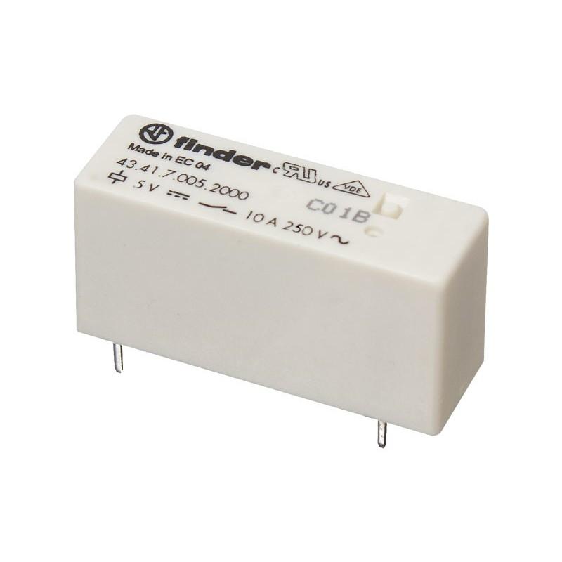 RL187 Relé 5 Vcc 1 circuito conmutado