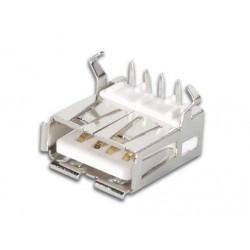 CONECTOR USB HEMBRA TIPO A CIRCUITO IMPRESO