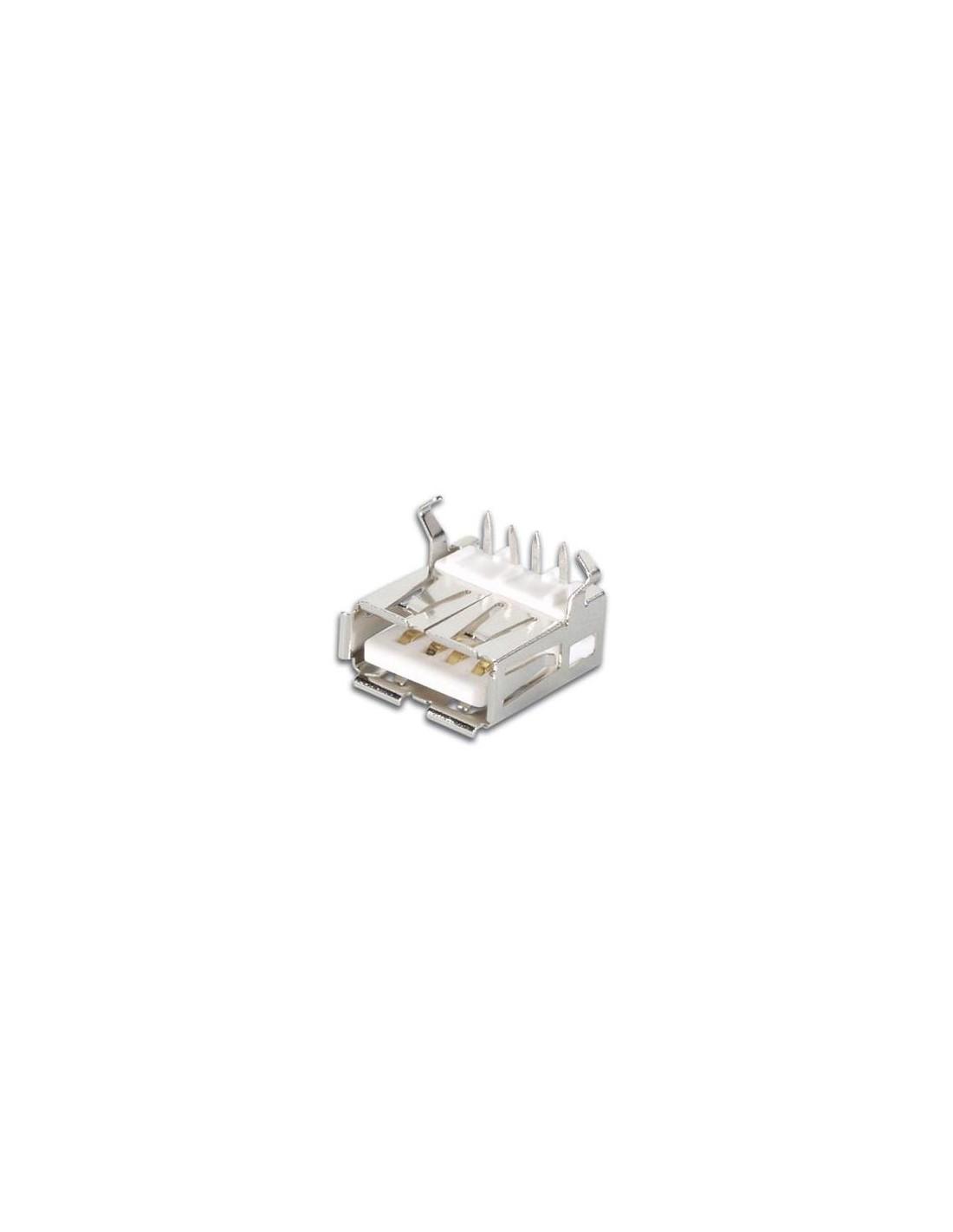Circuito Usb : Conector usb hembra tipo a circuito impreso electrónica
