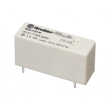 RL190 Relé 12 Vcc 1 circuito conmutado