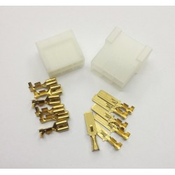 CONECTOR 6 VIAS TERMINAL FASTON 6,3mm