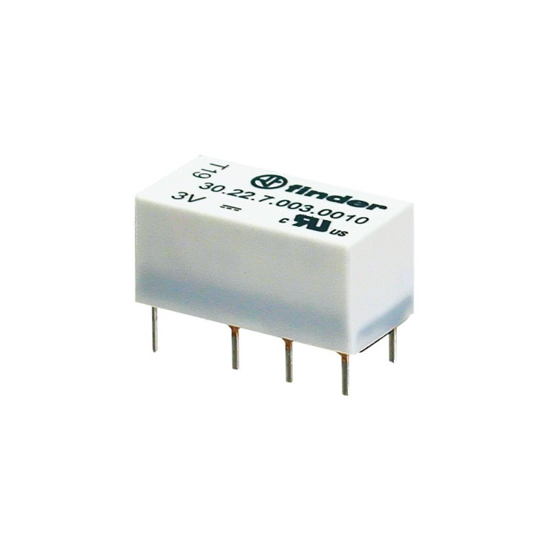 RL163 Relé 9 Vcc 2 circuitos conmutados