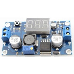 Módulo adjustable Mini DC-DC LM2596S con display.