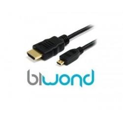 CONEXION MICRO HDMI  A HDMI V1.4 1,8 METROS