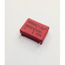 CONDENSADOR MKP 1uF400V RASTER 22,5mm
