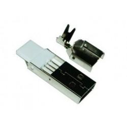 CONECTOR USB-A MACHO AEREO