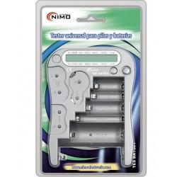 TESBAT001 Tester universal para pilas y baterías