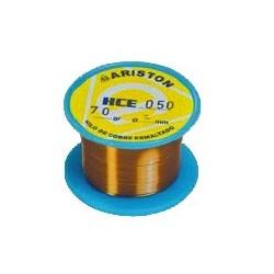 Hilo de cobre esmaltado 0,60 carrete de 70 gr.