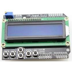 LCD 2 líneas + Keypad Shield Arduino