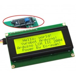 DISPLAY LCD 2004 + MÓDULO I2C