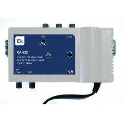 Central amplificadora 40dB 117 dBuV LTE