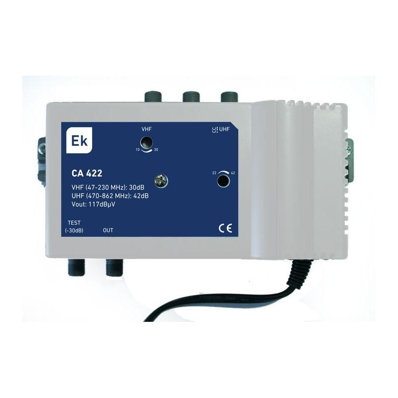 Central amplificadora 40dB 117 dBuV LTE