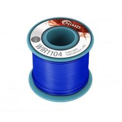 Cable rígido 0,5mm, carrete 25m AZUL