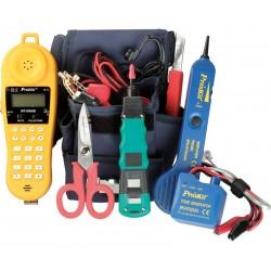 Kit de herramientas para mantenimiento teléfonico