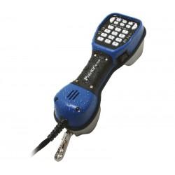 Teléfono pruebas de telecomunicaciones profesional