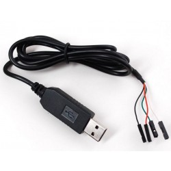 USB A UART  TTL CABLE SERIE PL2303TA