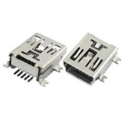 CONECTOR MINI USB A 5 PINS CIRCUITO IMPRESO