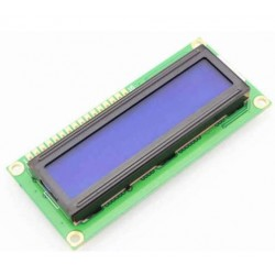 MODULO DISPLAY LCD 2X16 COLOR AZUL