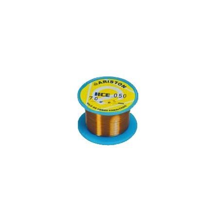 Hilo de cobre esmaltado 0,40 carrete de 70 gr.