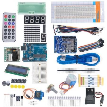 Kit de primesos pasos con Funduino Uno Compatible Arduino
