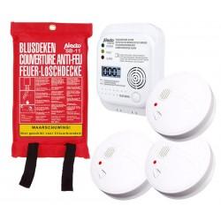 HOG026 Kit de detección y prevención de CO e incen