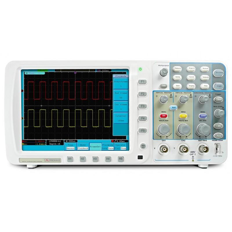OD-610: Osciloscopio digital de 100 MHz