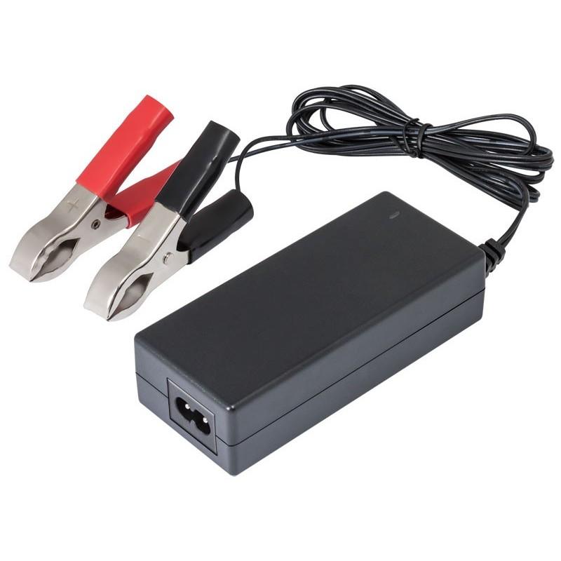 CAR242 Cargador de baterías de Plomo y Gel 24V 2A