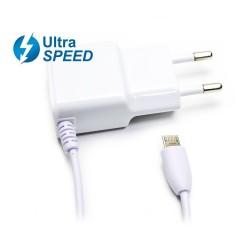 CARGADOR MICRO USB ULTRASPEED 5V 2.1A