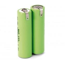 Pack de baterías 2,4V 2500mAh NI-MH AA X 2