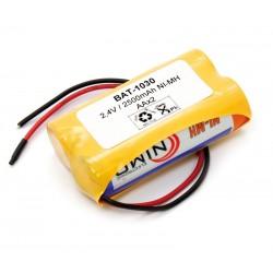 Pack de baterías 2,4V/2500mAh NI-MH