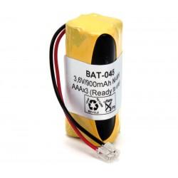 Pack de baterías 3,6V 900mAh NI-MH AAA x 3