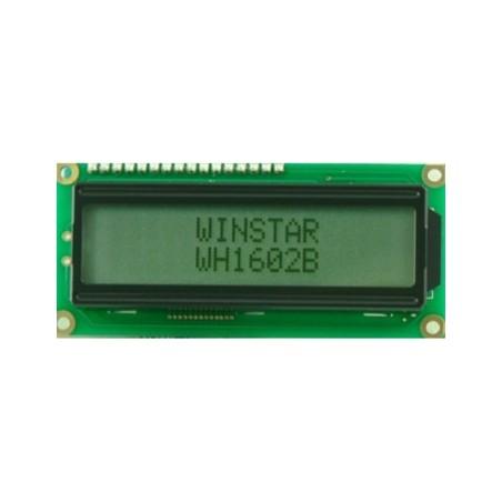 C-2602 Display LCD 2X16 pequeño alfanumérico