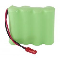 Pack de baterías 4,8V 2500mAh NI-MH