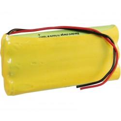 Pack de Baterías 3,6V 1100mAh NI-MH AAA x 3
